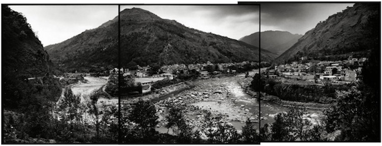 Beni town, Central Nepal. The scene of a large-scale Maoist attack in 2004. April 2007
