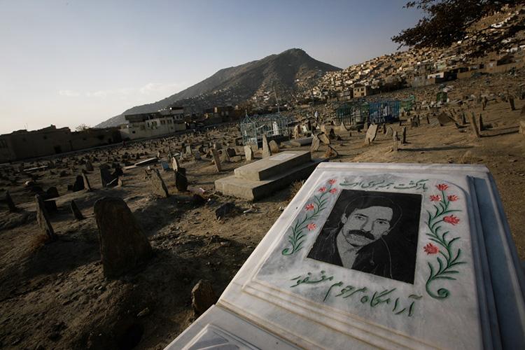 in Kabul, Afghanistan, Monday, Nov. 16, 2009. (AP Photo/Mustafa Quraishi)