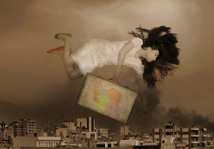 babak kazemi,alice in land of Iran,2011