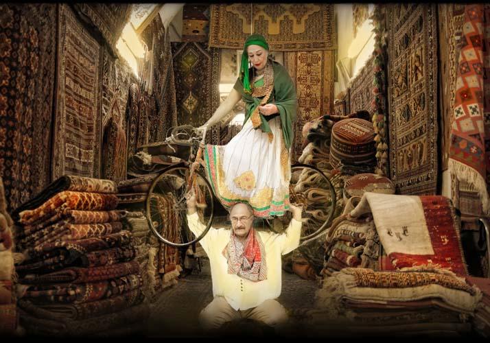 babak kazemi,exit of shirin & farhad 05,2012