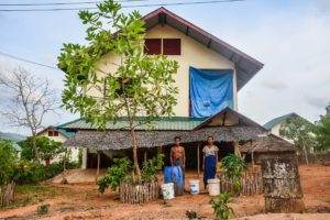 Displaced into emptiness, May 2015, Bawar Resettlement village, Dawei Region, Myanmar, Digital Nikon D7100